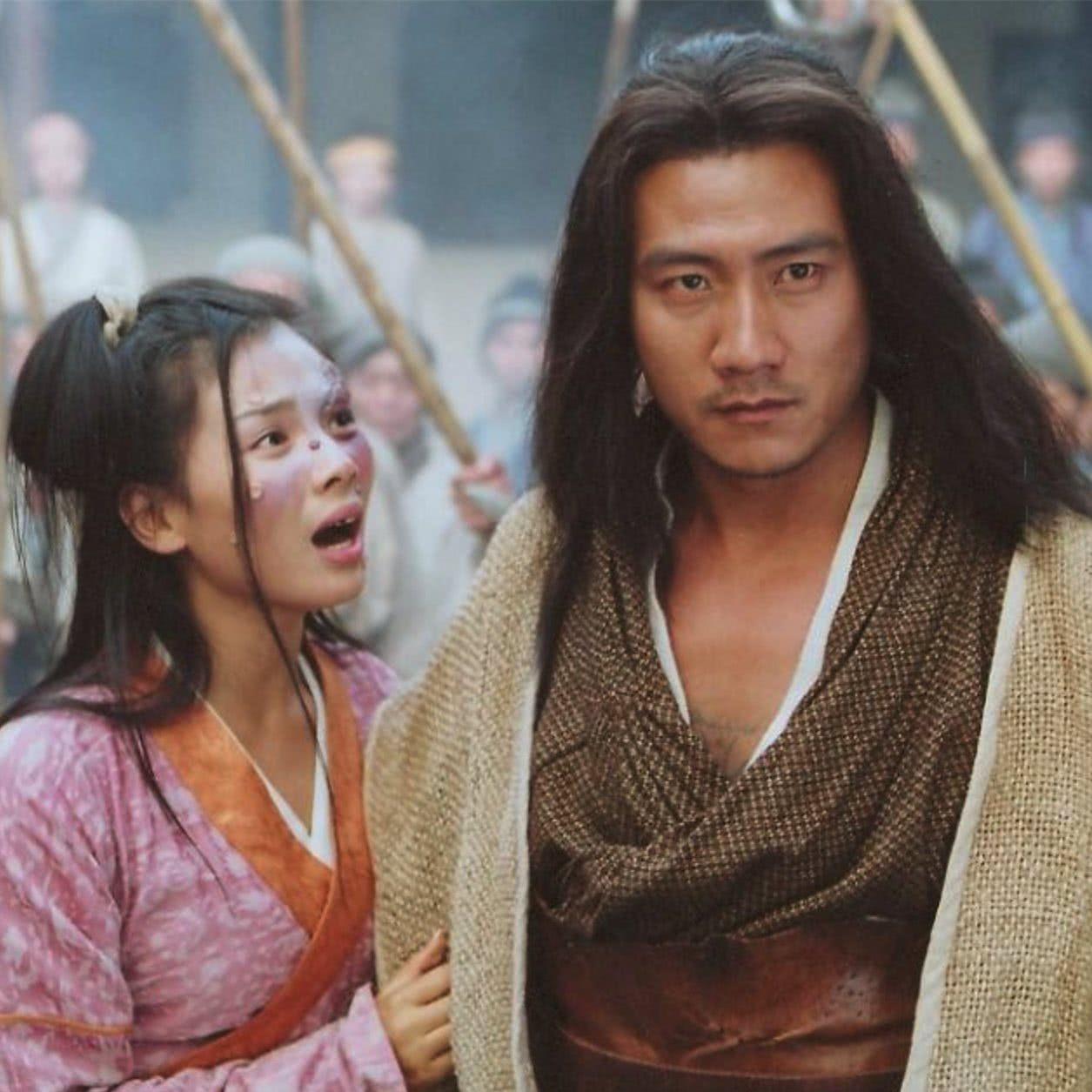 天龙八部萧峰虚竹段誉在少林寺大战是多少集?