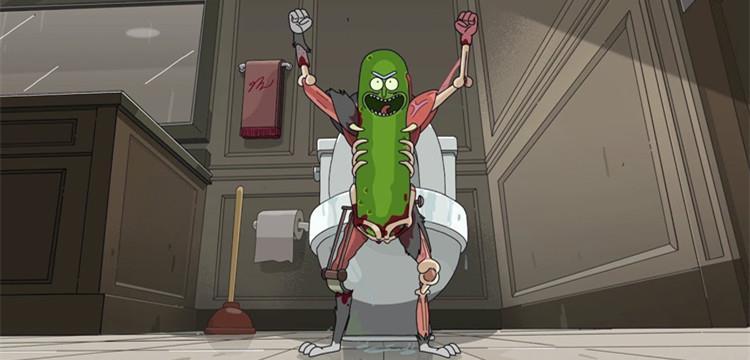 瑞克把自己变成黄瓜是哪一集?