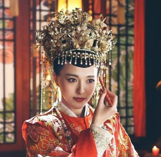 影视剧中的红妆嫁衣造型,谁是最完美的新娘?